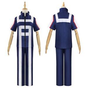 UK Seller My Hero Academia Cosplay Costume Set School Uniform Gym Suit
