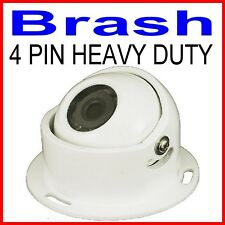 HEAVY DUTY CARAVAN BUS CCD REAR VIEW 120° CAMERA SONY 600TVL ! 4 PIN WHITE