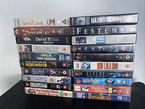 20 VHS Bundle Job Lot   Video Cassette Tapes Lot 5