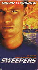 Sweepers (VHS) Dolph Lundgren 1998 ACTION!