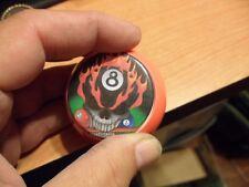 APA 8 Ball #5 Flaming Skull Pool Shooter Billiards Pool Ball Pocket Marker