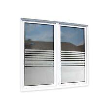 Fensterfolie Sichtschutz [Stripes] Badezimmer Büro WC Toilette + Maßanfertigung
