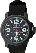 Smith & Wesson Black Stainless Men's Amphibian Commando Watch Sww-1100