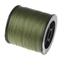 500 M 30 LB 0.26mm fishing line strength PE Braided 4 Strands green  L6E7