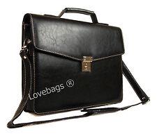 Qualité en cuir synthétique documents business mallette travail bagages cabine sacoche sac