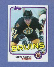 1981-82 Topps #68 R STEVE KASPER Boston BRUINS NMMT Rookie