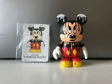 "Disney Vinylmation 3"" Urban 4  Paint Drip Mickey Chaser W/artist Card"