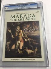 Marvel Graphic Novel 21 Marada The She-wolf Cgc 9.8 White Pages
