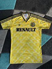 Adidas Trikot 1.FC Saarbrücken-80er-90er Rar-FCS Vintage-Selten-Matchworn XL Top