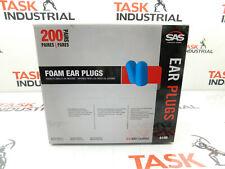 Sas Safety Foam Ear Plugs Pack Of 200 6100