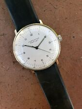 Junghans Max Bill Handwind 34mm ETA 2801 Movement Pristine