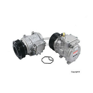One New DENSO A/C Compressor 4711360 JPB101330 for Land Rover