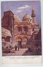 Kirche des Hl. Grabes  Jerusalem   Israel 1908