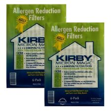 Kirby Bag 204811 HEPA White Cloth Allergen Reduction Filter Bags X 18 Genuine