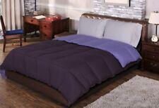 Twin/TwinXL Plum & Lavender All Season Reversible Down Alternative Comforter