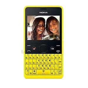 Unlocked Nokia Asha 210 Dual SIM Original Bluetooth GSM MP3 Wifi Cell Phone