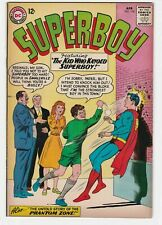 Superboy #104 VF 8.0 Superman DC National Comics Lana Lang Phantom Zone Jor-El