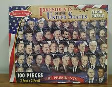 Melissa & Doug 100 Piece Puzzle: History Of The American Presidency: 2Ft x 3FT