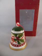 Villeroy & Boch My Christmas Tree Glocke Mistelzweig Aufhänger  Neu