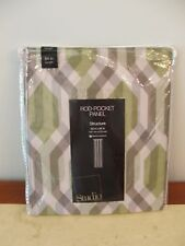 NIP $50 Studio Rod Pocket Panel Structure 50 x 95 Gladiator Gray/gre Multi Sheer