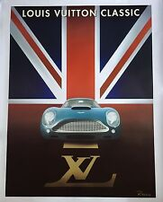 Razzia Poster, Louis Vuitton Classic 2004 Waddesdon, Signed, Mounted on Linen