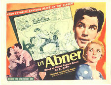 Li'l Abner Lobby Card - Title Card - Buster Keaton - Comic Strip - 1940 - Vg
