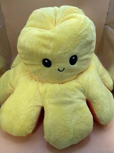 Octopus Plush Mood Fidget Toy Autism Sensory Reversible Pop It. 40cm