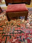 Antique MISSION OAK Footstool  Commonwealth of Pennsylvania  Millerstown