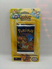 Sealed Original BASE SET Blister Pokemon Cards Booster Pack (Charizard Art)