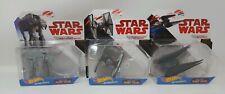 Hot Wheels Star Wars Starships Lot Tie Fighter Silencer Heavy Assault Walker