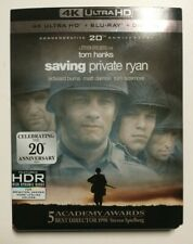 Saving Private Ryan (4K Ultra Hd Blu-ray/Blu-ray Disc, 2018, with slipcover)