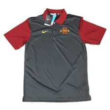 new arrival 1ede0 e144d NEW NWT Iowa State Cyclones Nike Men s Dri Fit Preseason Polo Shirt Size  Small