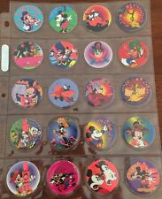 Mickey Mouse RED Glo Caps X20 By Glowzone RARE Tazos 1994