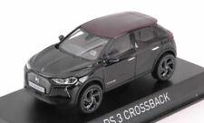 Ds 3 crossback la premiere 2019 black red roof 1:43 auto stradali scala