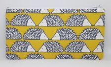 Scion 'Spike' Hedgehog Fabric Handmade Pencil Case Make Up Bag Storage Pouch