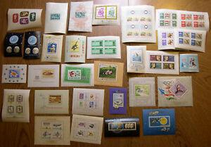 Hungary 1940-1968 MNH Souvenir Sheet Collection Sc 1231,1260,B113,B122,B130+ PZ1