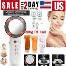 3 In 1 Ultrasonic Body Slimming Fat Burner Infrared Massager Anti-Cellulite Tool