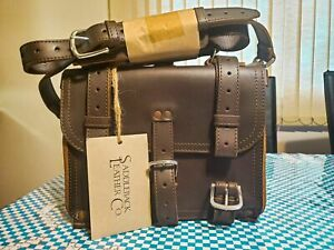 "Saddleback Leather 12"" SMALL CLASSIC BRIEFCASE Suede Lined 2-Rivet DCB"