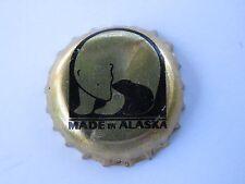 BEER Bottle Crown Cap ~ ALASKAN Brewing Co ~ Juneau, ALASKA ~ Polar Bear & Cub