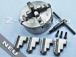 4-Backenfutter 160 mm für zylindrische Aufnahme zentrisch spannend NEU