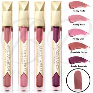 MAX FACTOR Colour Elixir Honey Lacquer Shiny Lip Stick Gloss 3.8ml CHOOSE SHADE