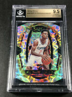 SHAI GILGEOUS ALEXANDER 2018 PANINI SELECT #104 SCOPE REFRACTOR ROOKIE BGS 9.5