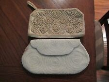 2 Vintage Beaded Evening Bags