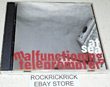 AT SEA - MALFUNCTIONING TELEPROMPTER -9 TRACK RARE CD- (UAR034)