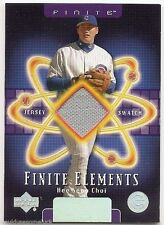 2003 UPPER DECK FINITE ELEMENTS GAME JERSEY Hee Seop Choi #FEHC