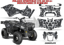 AMR RACING DEKOR GRAPHIC KIT ATV POLARIS SPORTSMAN MODELLE CAMOPLATE B