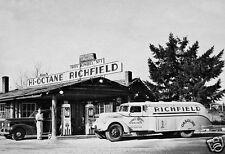 SHELTON ROY KIMBEL NO.1 HIGH-OCTANE RICHFIELD STATION TRUCK RAY MITCHEL TAV