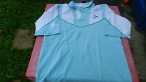 Vintage Rugby Jersey Green And White Pau ? Worn XL
