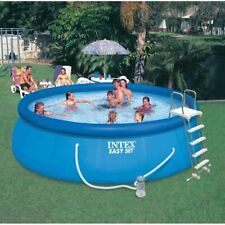 "Intex 15' x 48"" Inflatable Easy Set Above Ground Swimming Pool *Free Shipping*"