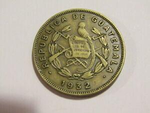 Guatemala 1932 2 Centavos Coin